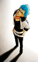Grimmjow- Better Late Than Never by R-Blackout