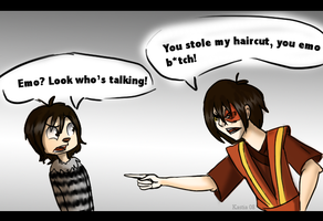 You Stole My Hair-HHAW-Avatar by Kastia