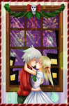 C.Entry: Under the Mistletoe by rojeru