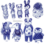 Pen ACNL Villagers (old) by Amphibizzy