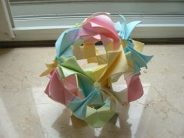 another kusudama by moshi-moro