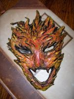 Fire Mask by ClinicallyChaotic