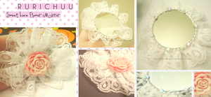 Sweet Lace Flower Mirror by Rurichuu