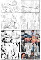 Process page -Pencils , Inks and Colors- by spiritualfeel
