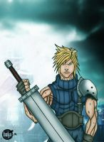 Cloud Strife - FFVII by hulja