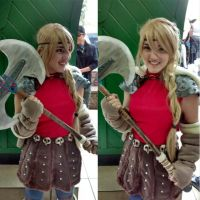 Astrid Hofferson - How to Train Your Dragon by jademarc