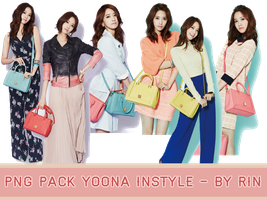[PNG PACK] YoonA Instyle by Dorkysica