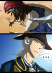 ''A Pretty Pirate'' - YAOI COMIC PREVIEW! by Sapphiresenthiss