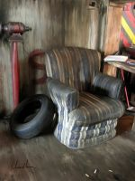 Tyre and Easy Chair by mchiarella