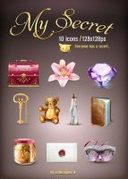 MySecret 10 icons by LazyCrazy