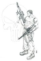 The Punisher p by vittoriogarofoli83