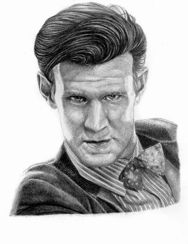 The Eleventh Doctor by Anaisdrawings