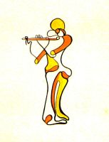 JAZZ Flute Player by living2prove