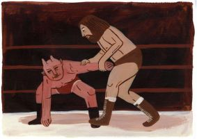 Wrestling 3 by Teagle