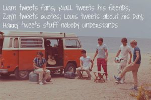 One Direction Tweets by 1Dluverrr2708