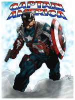 CAPTAIN AMERICA by Mich974