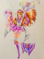 Sailor Athena/Mahou Shoujo Lydia by mango-shiro