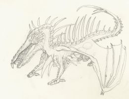 dracotic present-pencil by drago-w