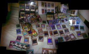 yugioh card collection by thecbchronicles