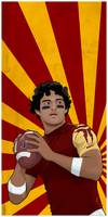 Mark Sanchez vector by Lendak