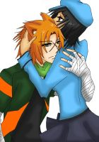 Request: Johnny x Anne (Team JAGO) by mrne93