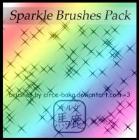 Sparkle Brushes Pack by Circe-Baka