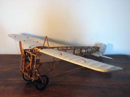 Bleriot XI (5) by olivelebasque