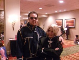Ed and Lt Coronal Hughes NDK by peppermix14