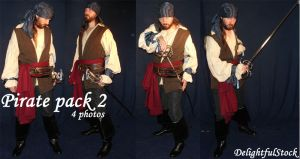 PiratePack2 DelightfulStock by DelightfulStock