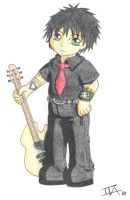 Billie Joe chibi by GreenArcherAlchemist