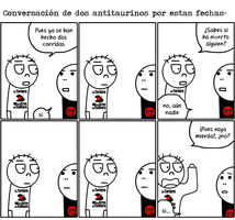 Conversaciones antitaurinas by Raikick