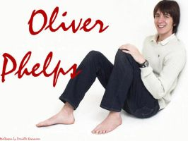 Oliver Phelps wallpaper by daniellekoorevaar