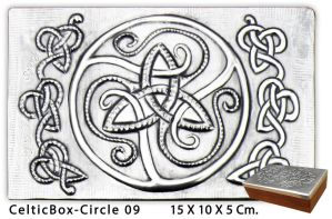 Celtic Circle  Box 09A by arteymetal