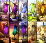 Commiss: FR Clan Banner Compile 2 by dragoonwys