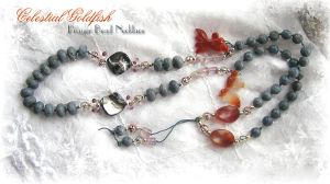 GOLDFISH Prayer Beads by ChaeyAhne