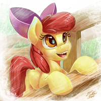 CMC Set_Applebloom by Tsitra360
