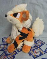 Custom Plush Arcanine Pokemon commission by angelberries