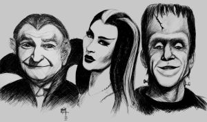 The Munsters by studioofmm