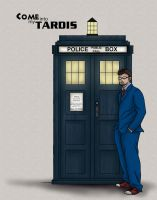 James as the Doctor by RTNinja