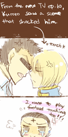 KuroKura - Forehead touch :3 English ver. by leaf-wolf