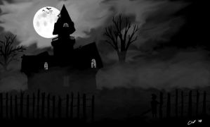 Haunted House by HalcyonCross