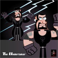 The Undertaker,el tigre style by CrimsonFace