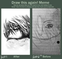Draw again meme by ko-yamii