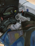 Still Life with Video Games by Master-at-Arms