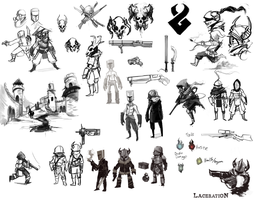 Laceration Concepts by HawtKoffee