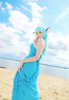 On the Sky - Vaporeon Cosplay by usagiyuu