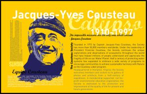 jacques yves cousteau by lombat