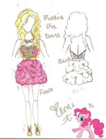 Pinkie Pie Dress Design by XeMiChan576