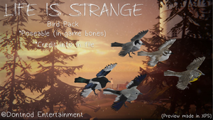 LiS - Bird Pack by angelic-noir