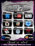 Black folders colorflow folders add-on pack by Sebbiegod